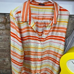 Vince Camuto Stripped Shirt 3X